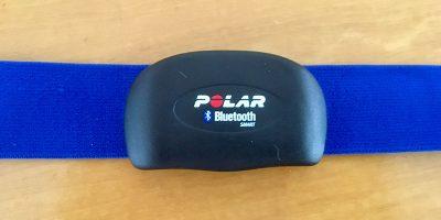 Polar H7 heart-rate sensor
